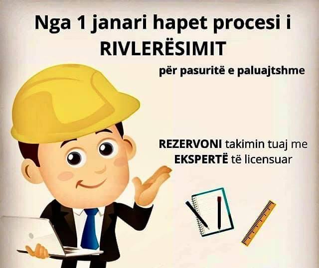 proçesi i rivlerësimit të pronës