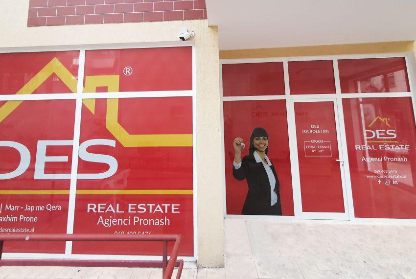 Zyrë e Re DES Real Estate!