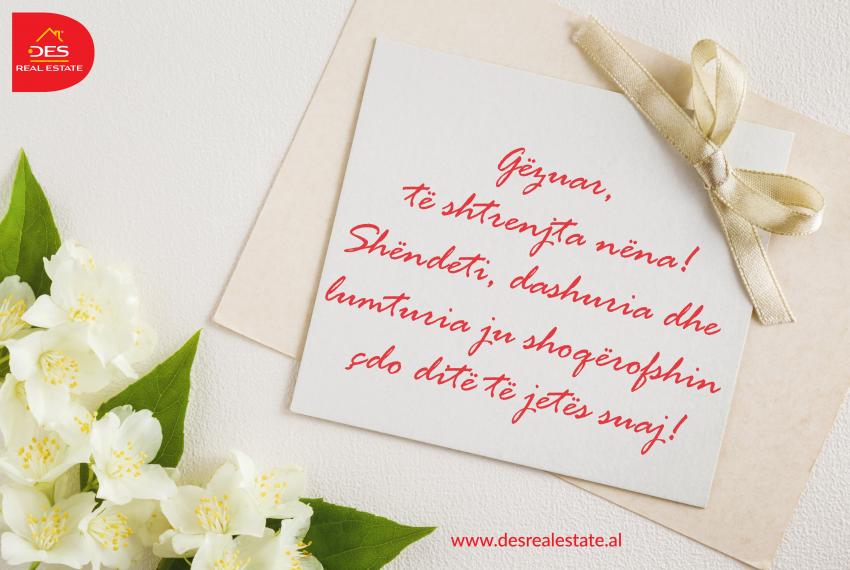 Gëzuar, të shtrenjta nëna! Shëndeti, dashuria dhe lumturia ju shoqërofshin çdo ditë të jetës suaj!